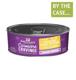 Stella and Chewys SC Carnivore Cravings Shredded Chicken & Liver 2.8oz