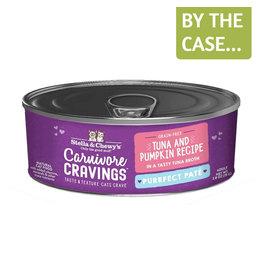 Stella and Chewys SC Carnivore Cravings Pate Tuna & Pumpkin 2.8oz