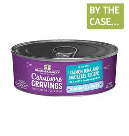 Stella and Chewys SC Carnivore Cravings Pate Salmon Tuna Mackerel 2.8oz