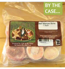 Dogs Gone Wild Dogs Gone Wild 1 inch Marrow Bones 6pk