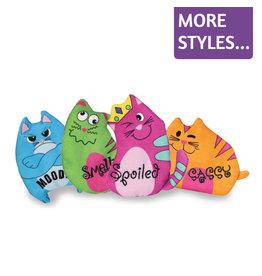 Kong Kong Purrsonality Refillable Catnip Toys
