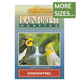 Kaylor of Colorado Kaylor Rainforest Exotics Cockatiel Food