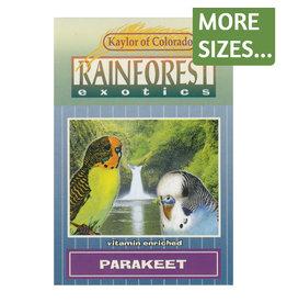 Kaylor of Colorado Kaylor Rainforest Exotics Parakeet Food