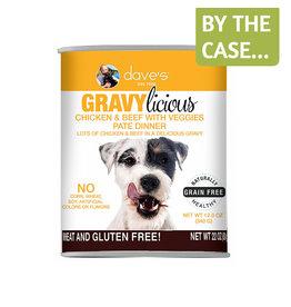 Daves Pet Food Dave's Dog Gravylicious Chicken Beef 12oz