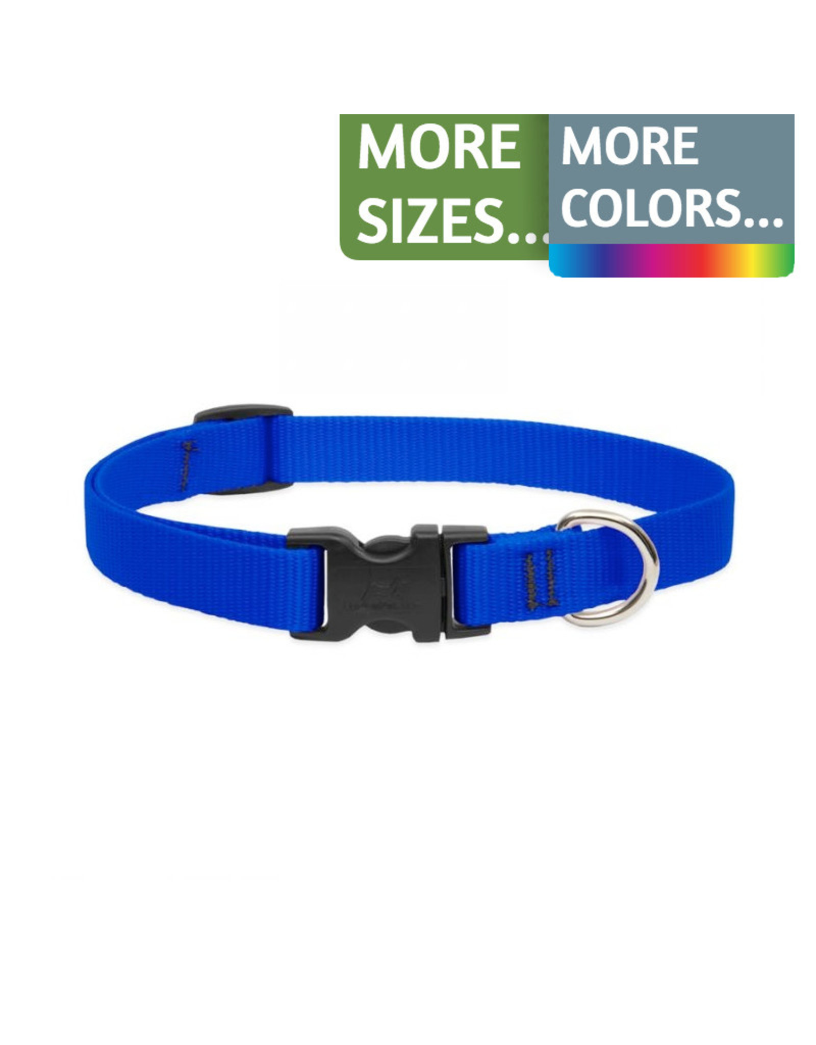 Lupine Lupine 3/4in Wide Adjustable Nylon Dog Collar