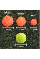 WACKYwalk'r Wacky Walk'r Wunderball Natural Rubber Ball Dog Toy