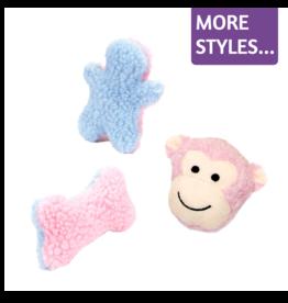 Li'l Pals Fleece Mini Dog Toys
