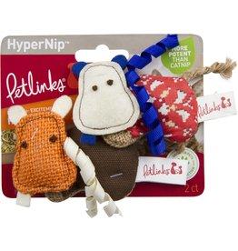 Petlinks Petlinks HyperNip Hippos Cat Toys 2pk