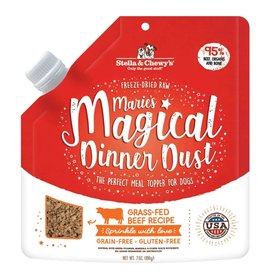 Stella and Chewys Magical Dinner Dust for Dogs Beef 7oz