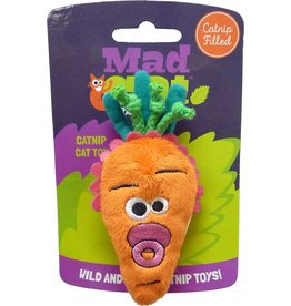 Mad Cat by Cosmic Mad Cat Baby Carrot Catnip Toy