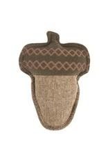 Harry Barker Harry Barker Plush Tweed Acorn Dog Toy