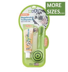 Triple Pet EZ Dog Dental Kit Toothbrush & Toothpaste