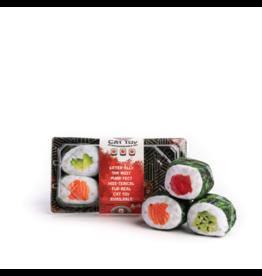 Fabcat Sushi Rolls Cat Toys 6pk