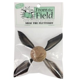 From the Field FTF Shae The Flutterby Natural Cat Toy
