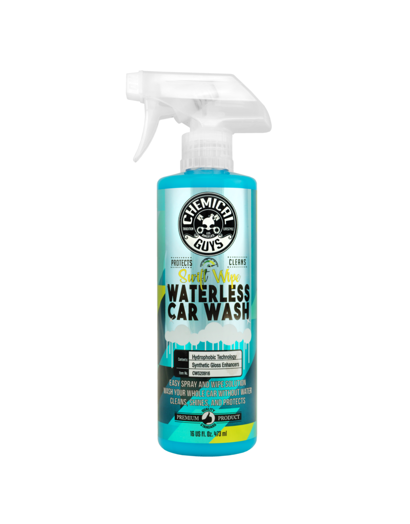 Chemical Guys SWIFT WIPE COMPLETE WATERLESS CAR WASH EASY SPRAY & WIPE FORMULA 16oz