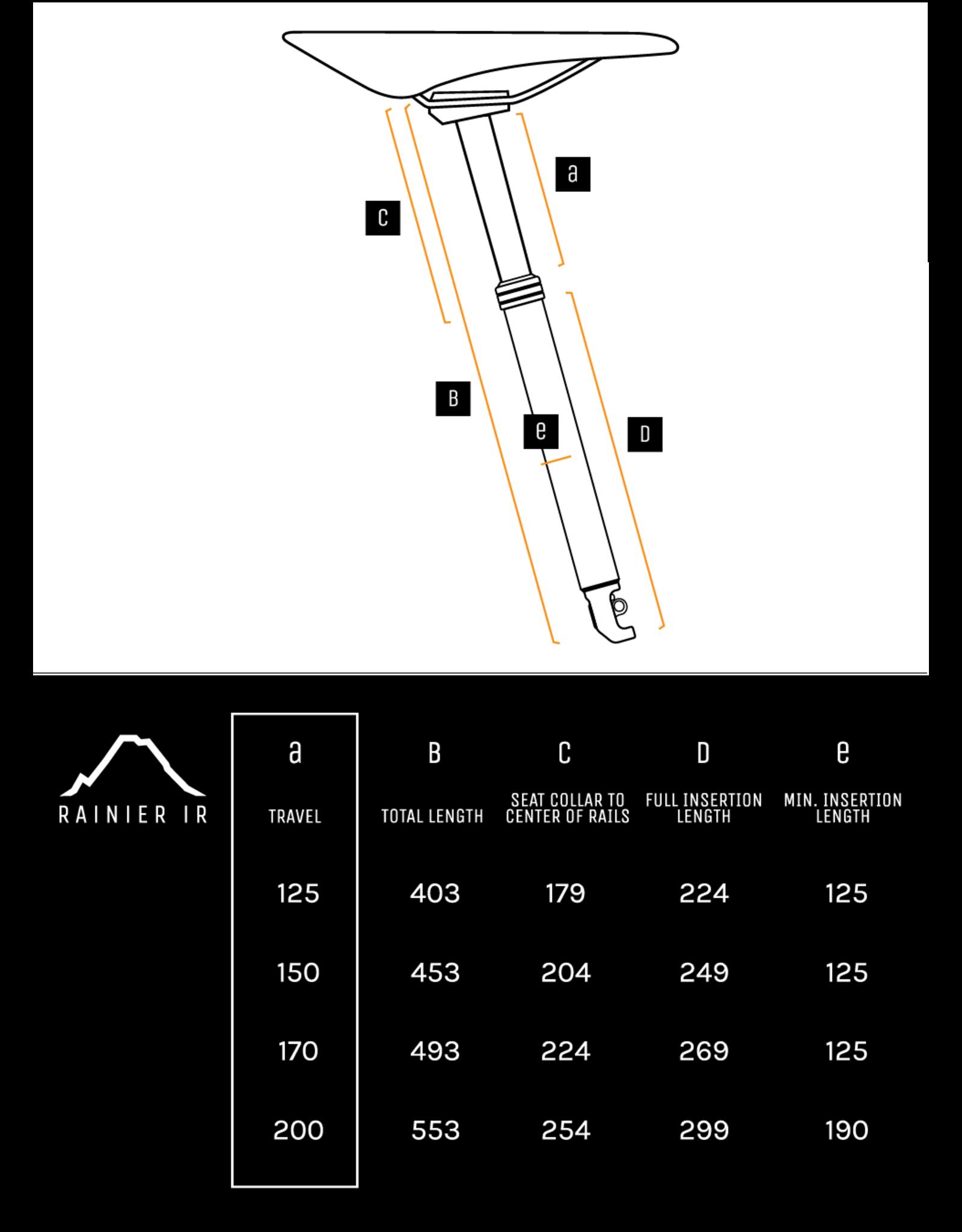 PNW Components PNW Components Rainier Gen 3 Dropper Post