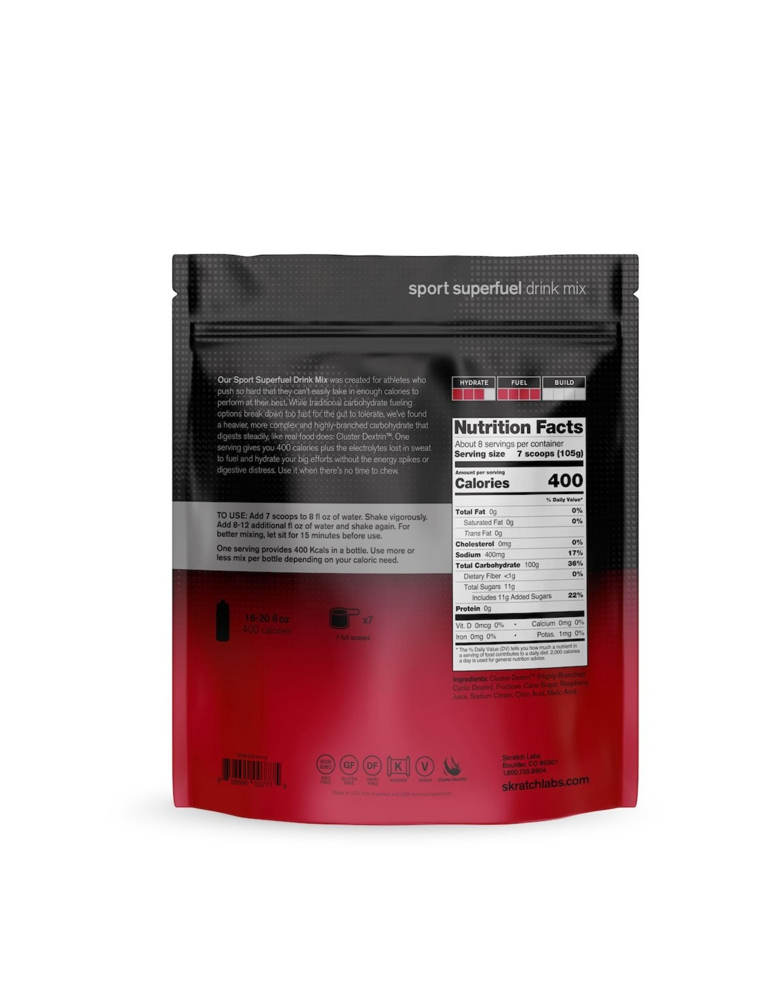 Skratch Labs Skratch Labs Sport Superfuel Drink Mix