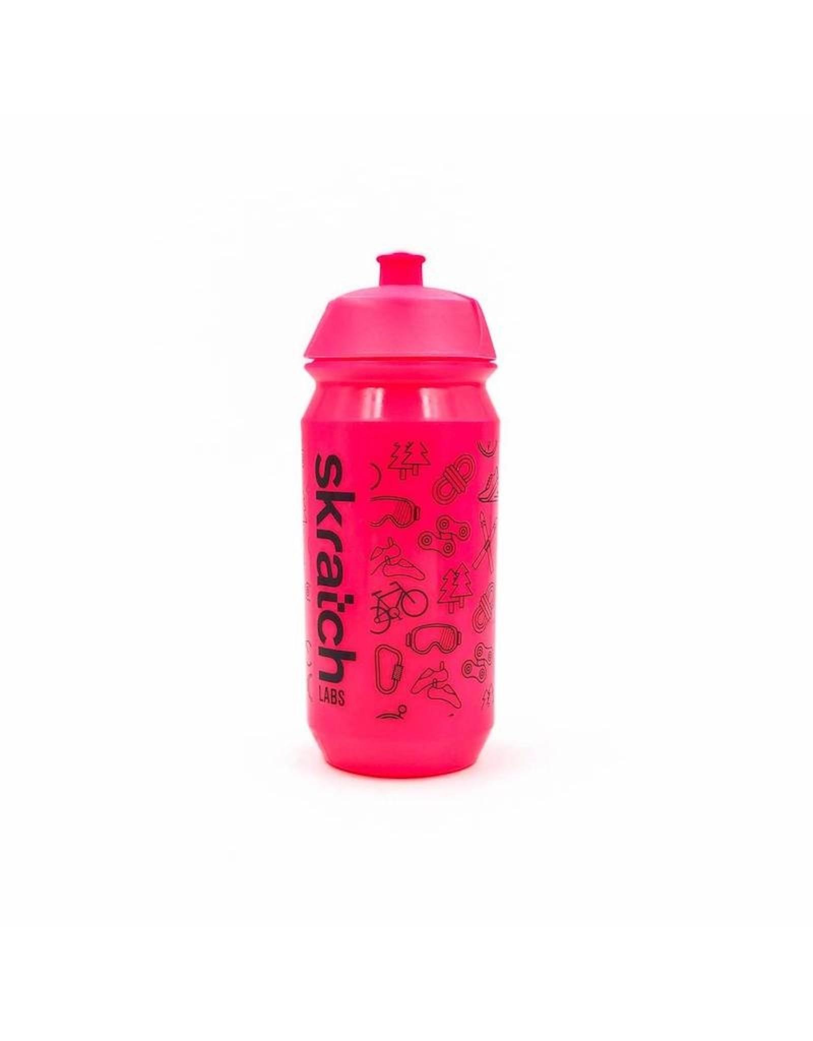 Skratch Labs Skratch Labs 16oz Tacx Shiva Water Bottle Pink
