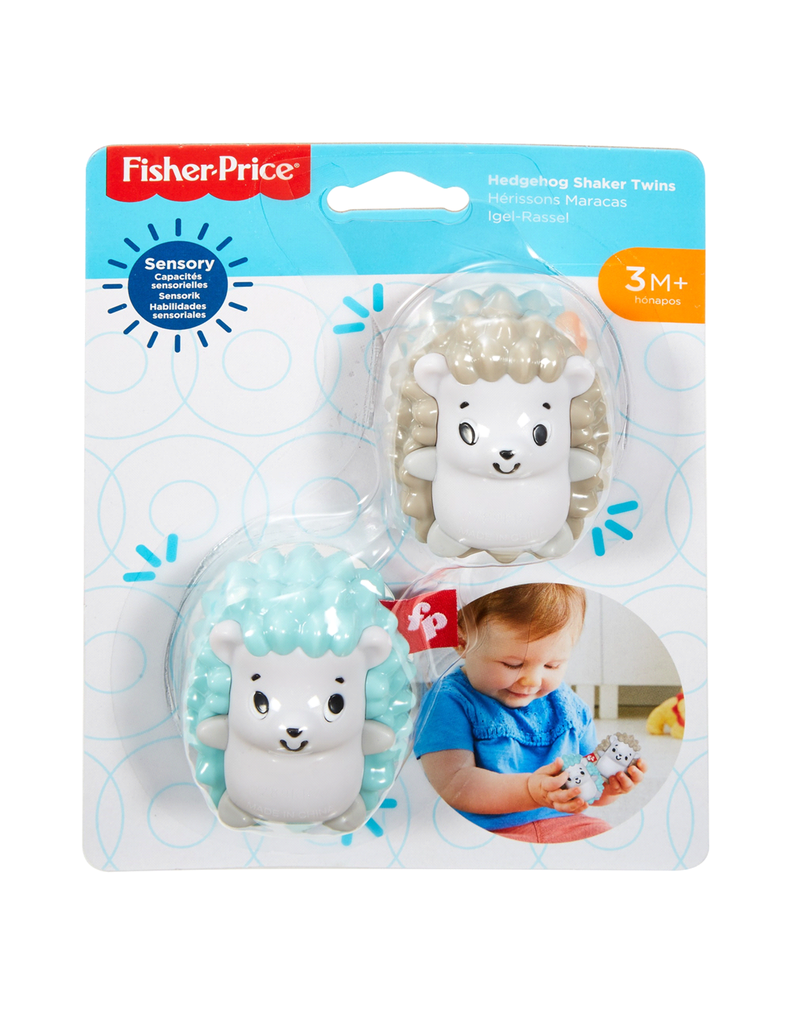 Fisher Price Fisher Price Hedgehog Shaker Twins