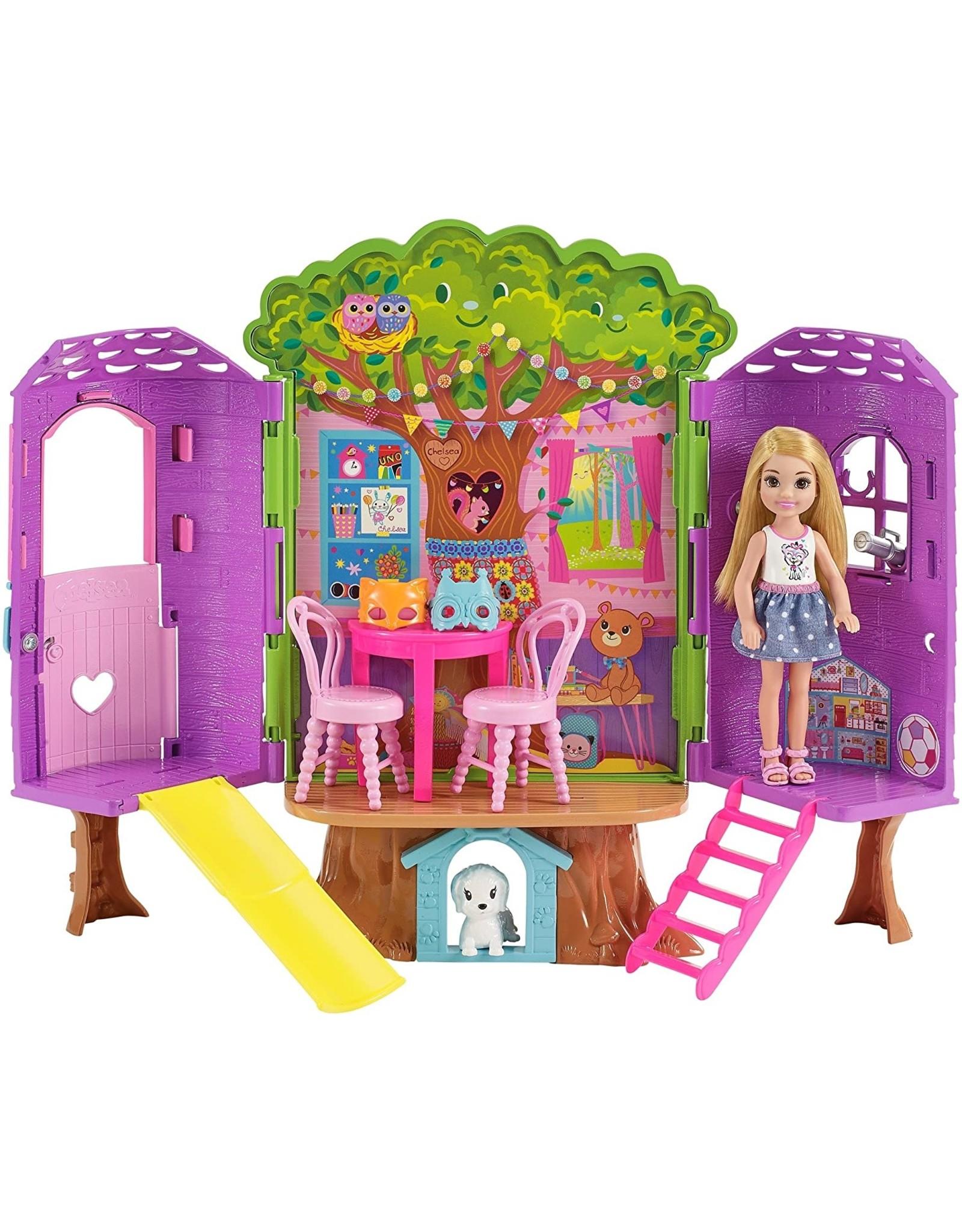 Barbie Barbie Chelsea Doll & Treehouse