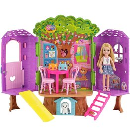 Barbie Barbie Chelsea Doll & Treehouse