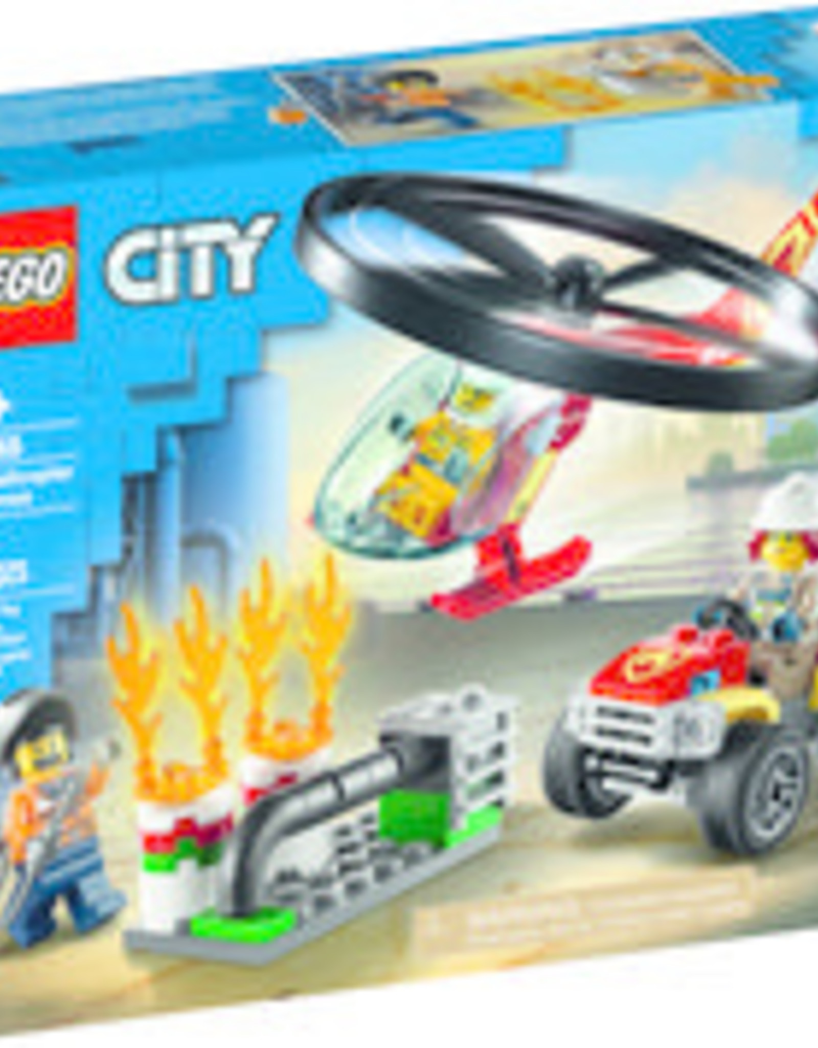 LEGO Fire Helicopter Response