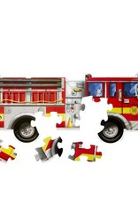 Melissa & Doug Giant Fire Truck Floor (24 pc)