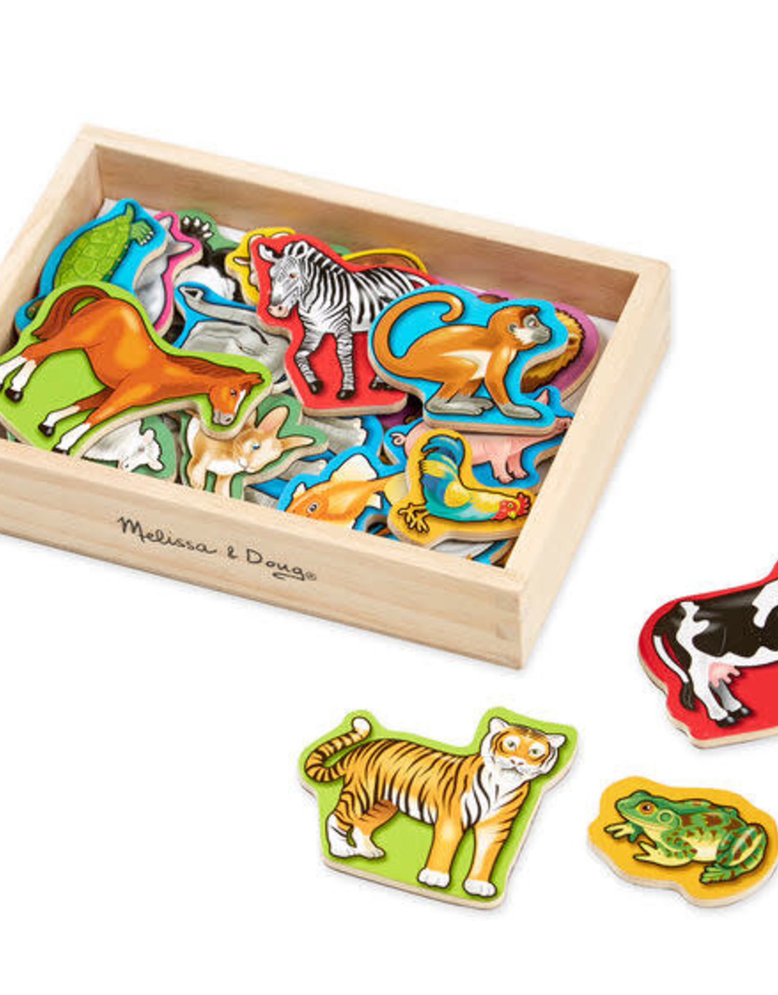Melissa & Doug Animal Magnets