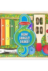 Melissa & Doug Band-in-a-Box Hum! Jangle! Shake!