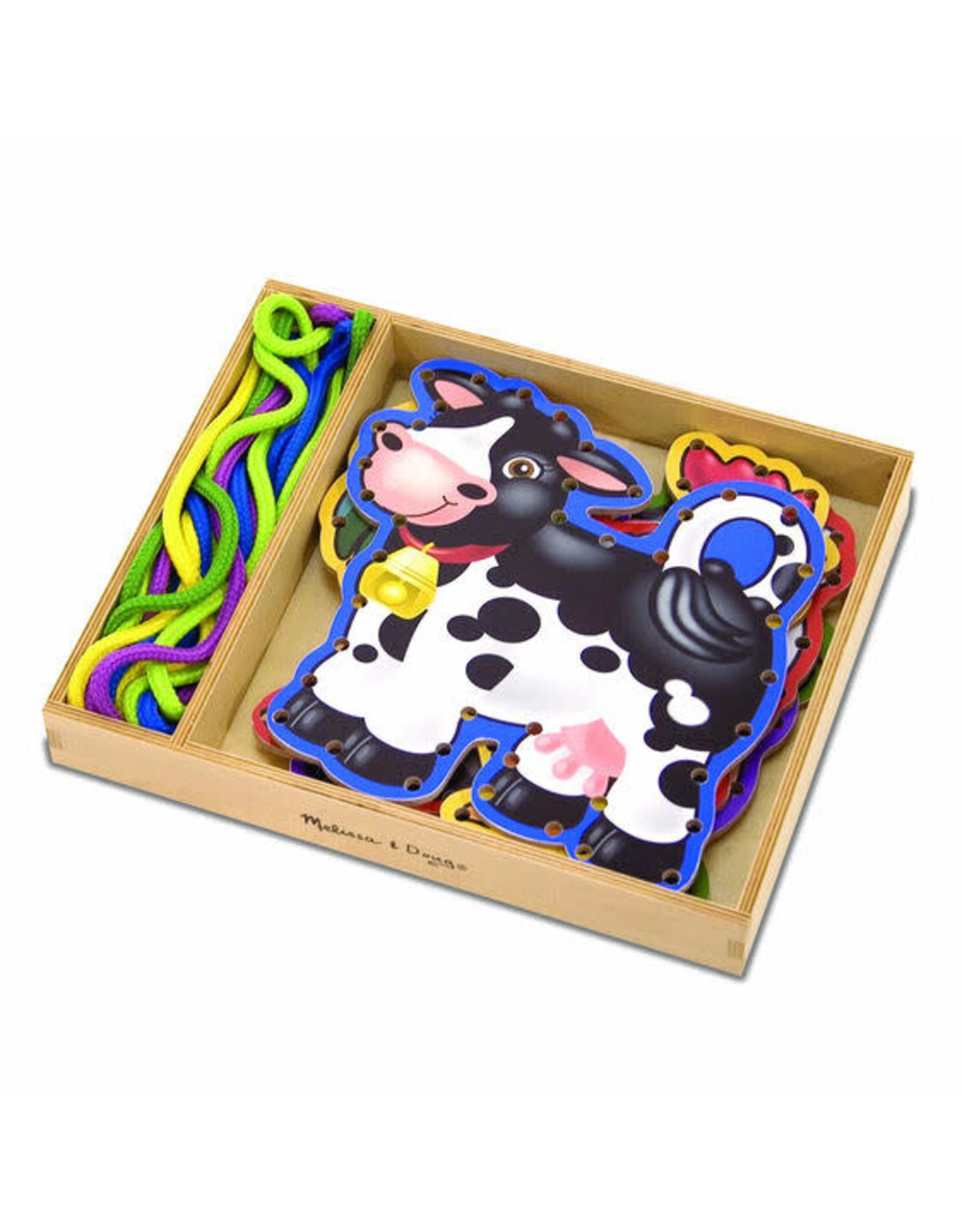 Melissa & Doug Farm Animals Lace and Trace Panels