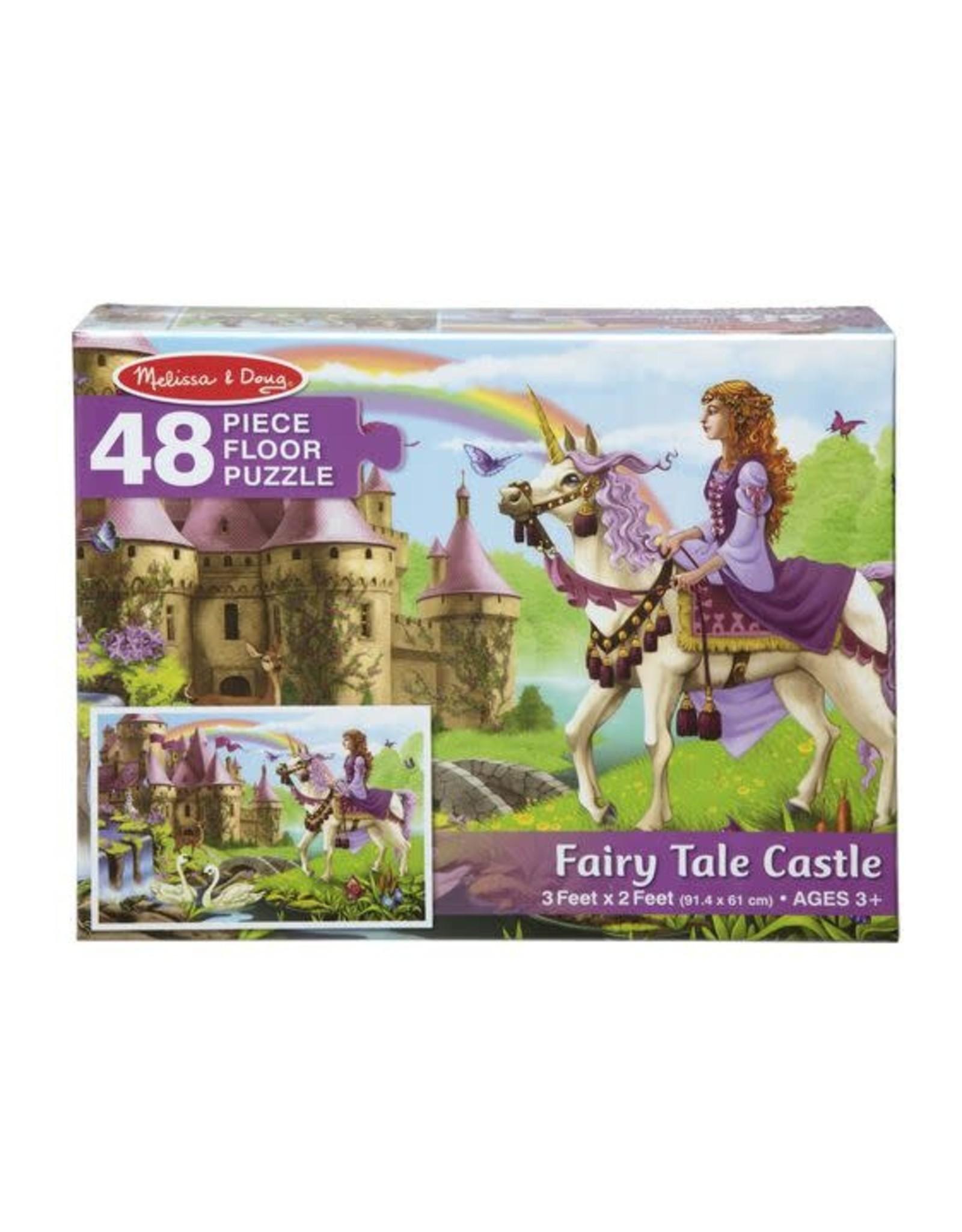 Melissa & Doug Fairy Tale Castle Floor Puzzle (48 pc)