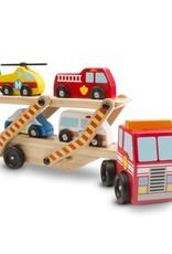 Melissa & Doug Emergency Vehicle Carrier