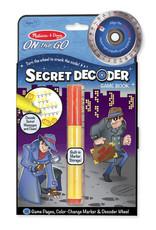 Melissa & Doug Secret Decoder Book