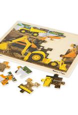 Melissa & Doug Construction Jigsaw 24pc