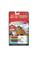 Melissa & Doug Magicolor Coloring Pad - Farm Animals