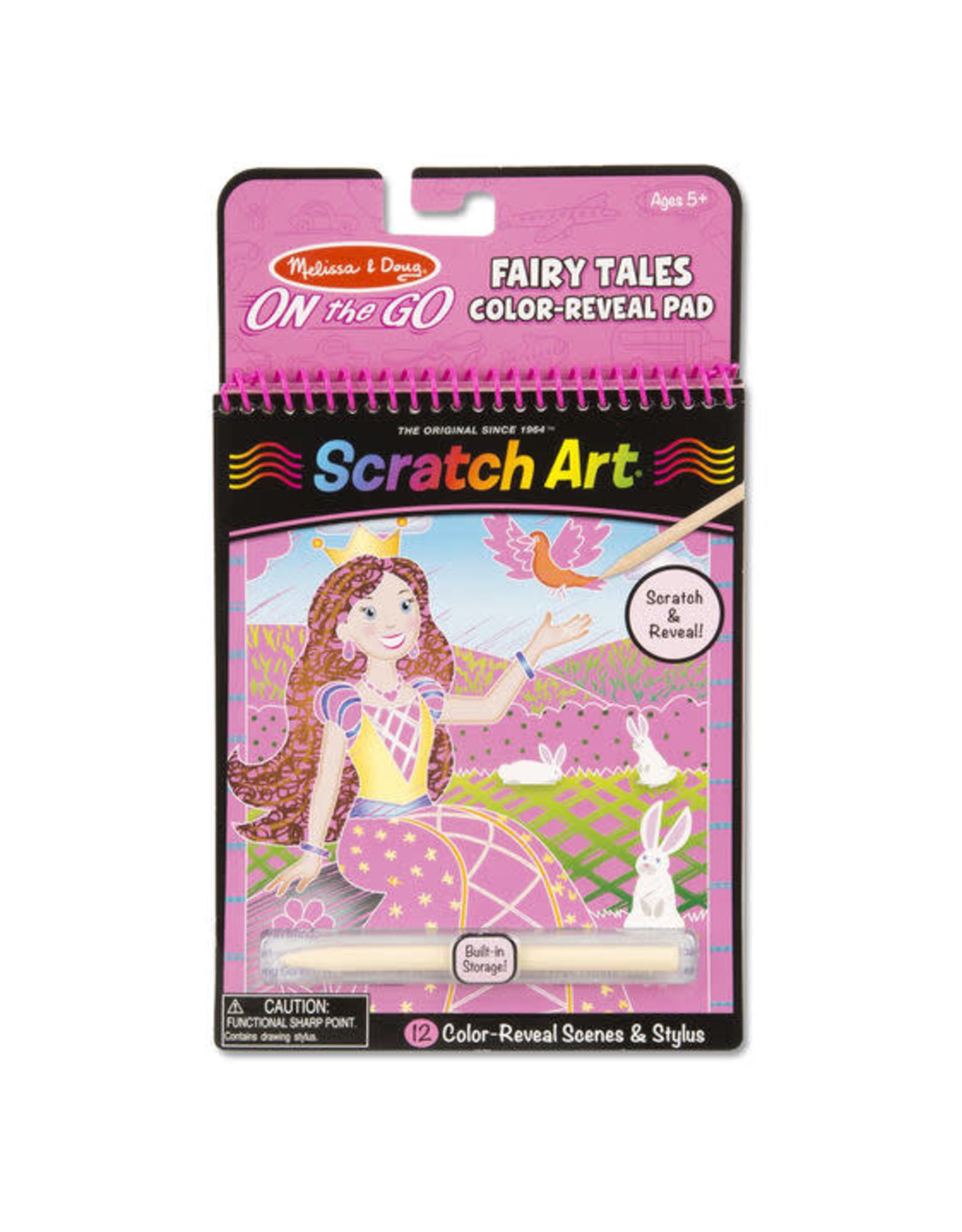 Melissa & Doug Fairy Tales Color-Reveal Pad Scratch Pad