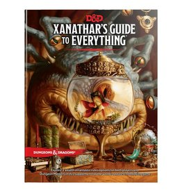 Dungeons & Dragons D&D Xanathars Guide to Everything
