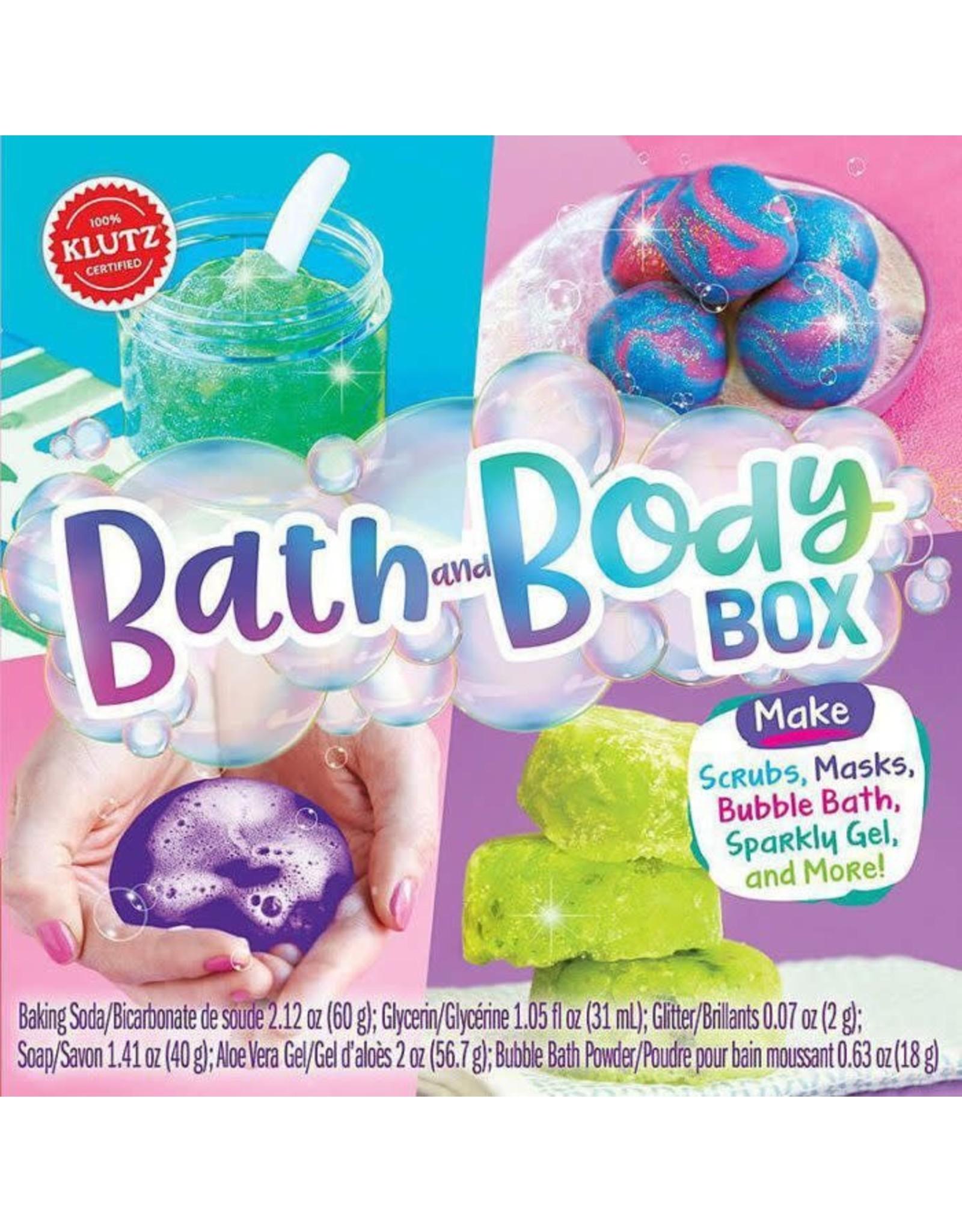 KLUTZ BATH AND BODY BOX (L)