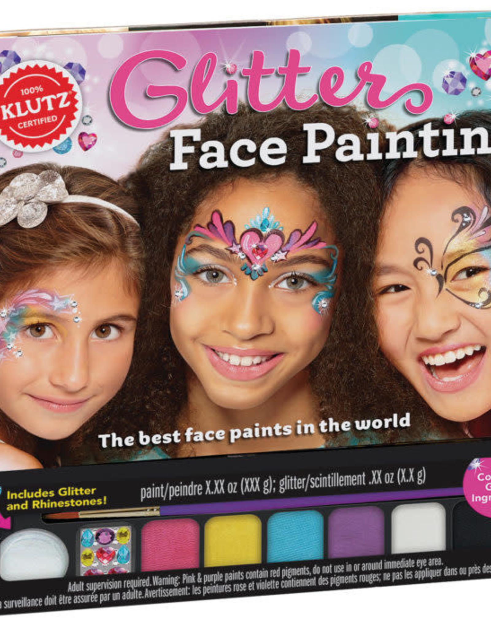 KLUTZ GLITTER FACE PAINTING (L)