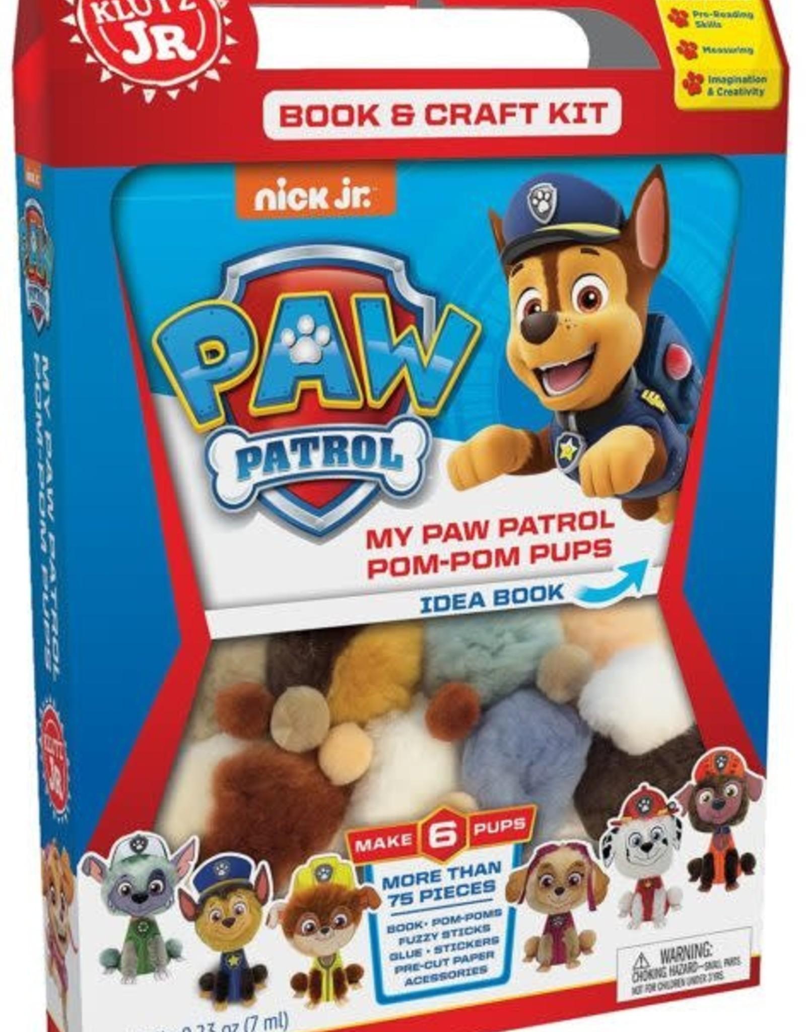 KLUTZ KLUTZ JR. MY PAW PATROL POM-POM PUPS