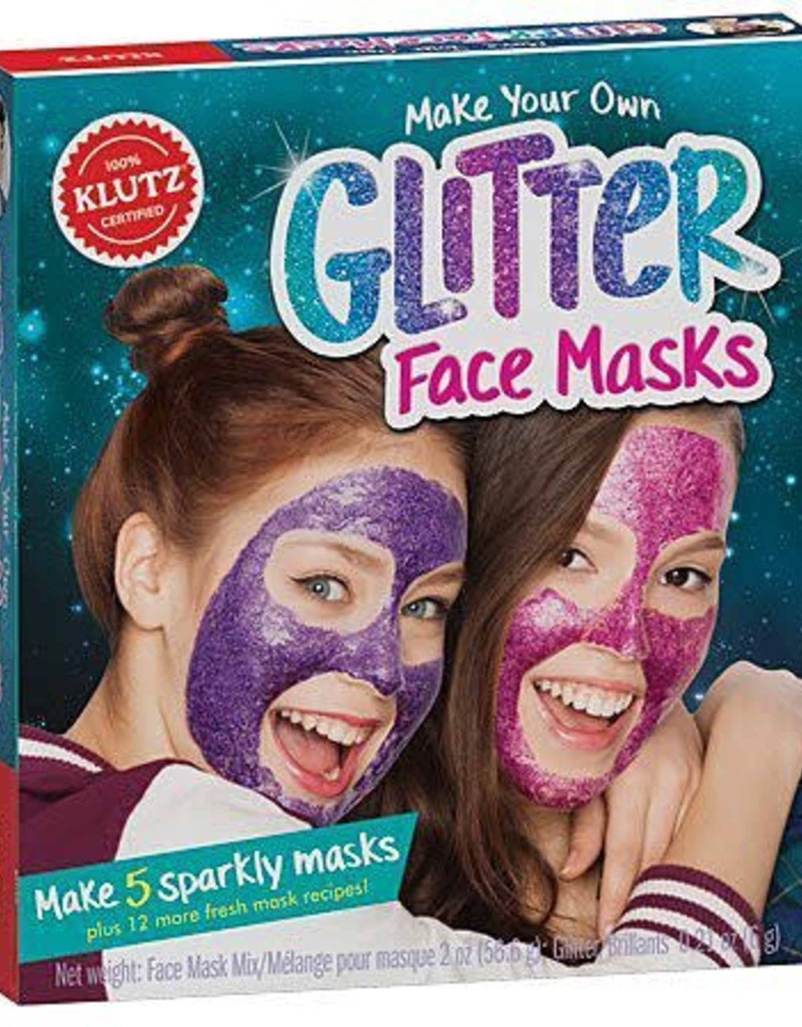 KLUTZ Make Your Own Glitter Face Mask