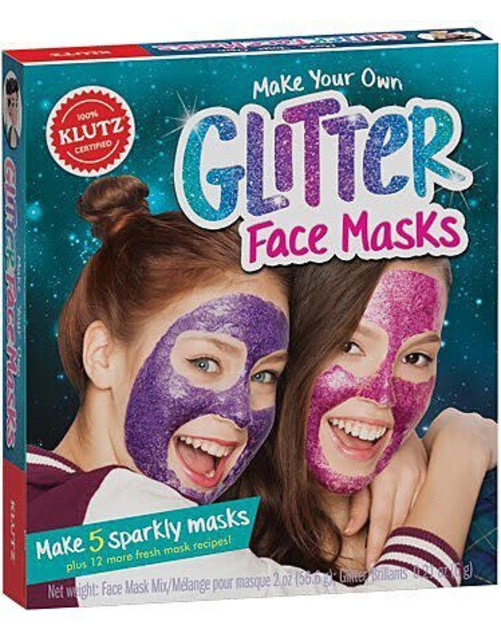 KLUTZ Make Your Own Glitter Face Mask