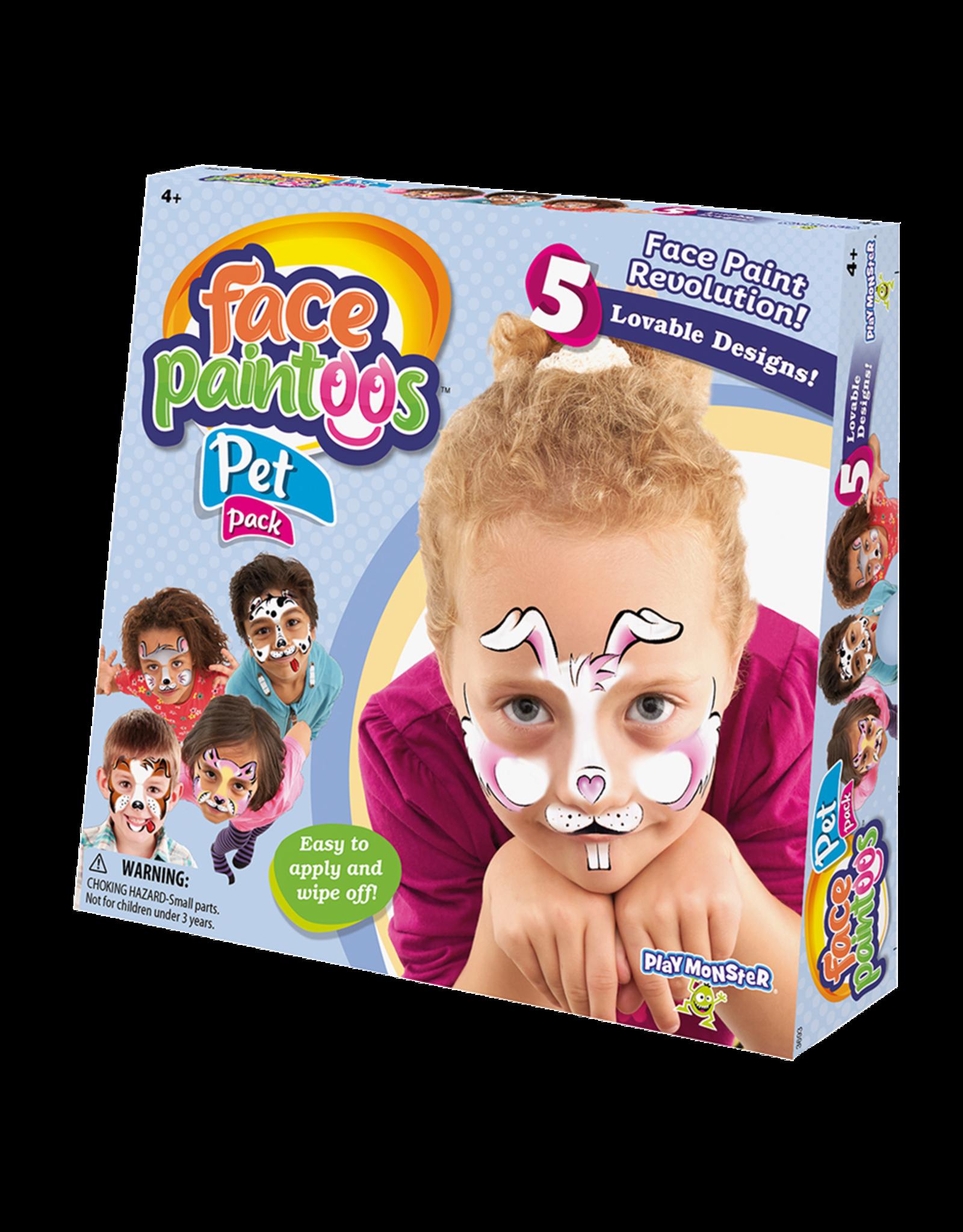 PLAYMONSTER FACE PAINTOOS PET PACK