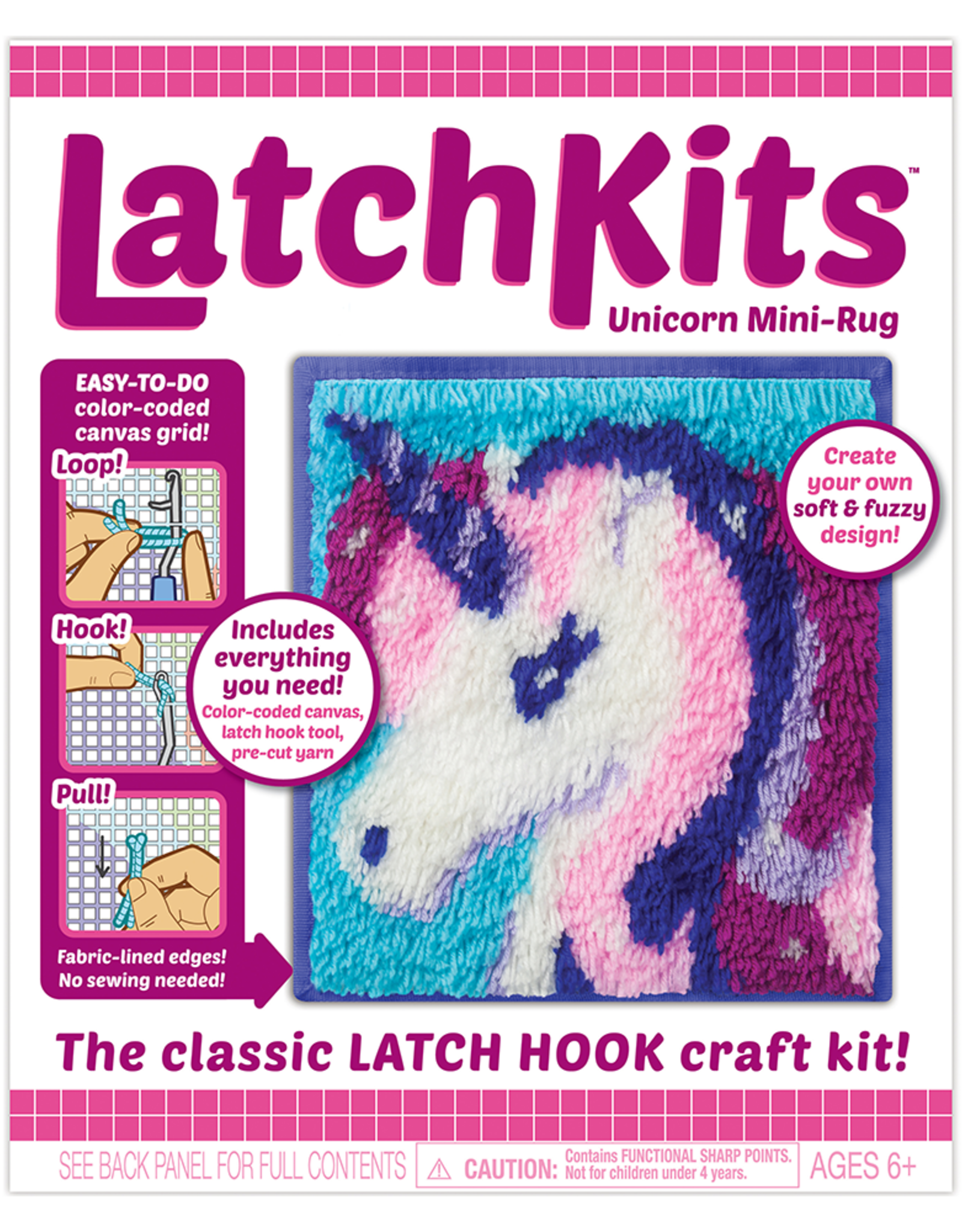 PLAYMONSTER Latchkit- unicorn