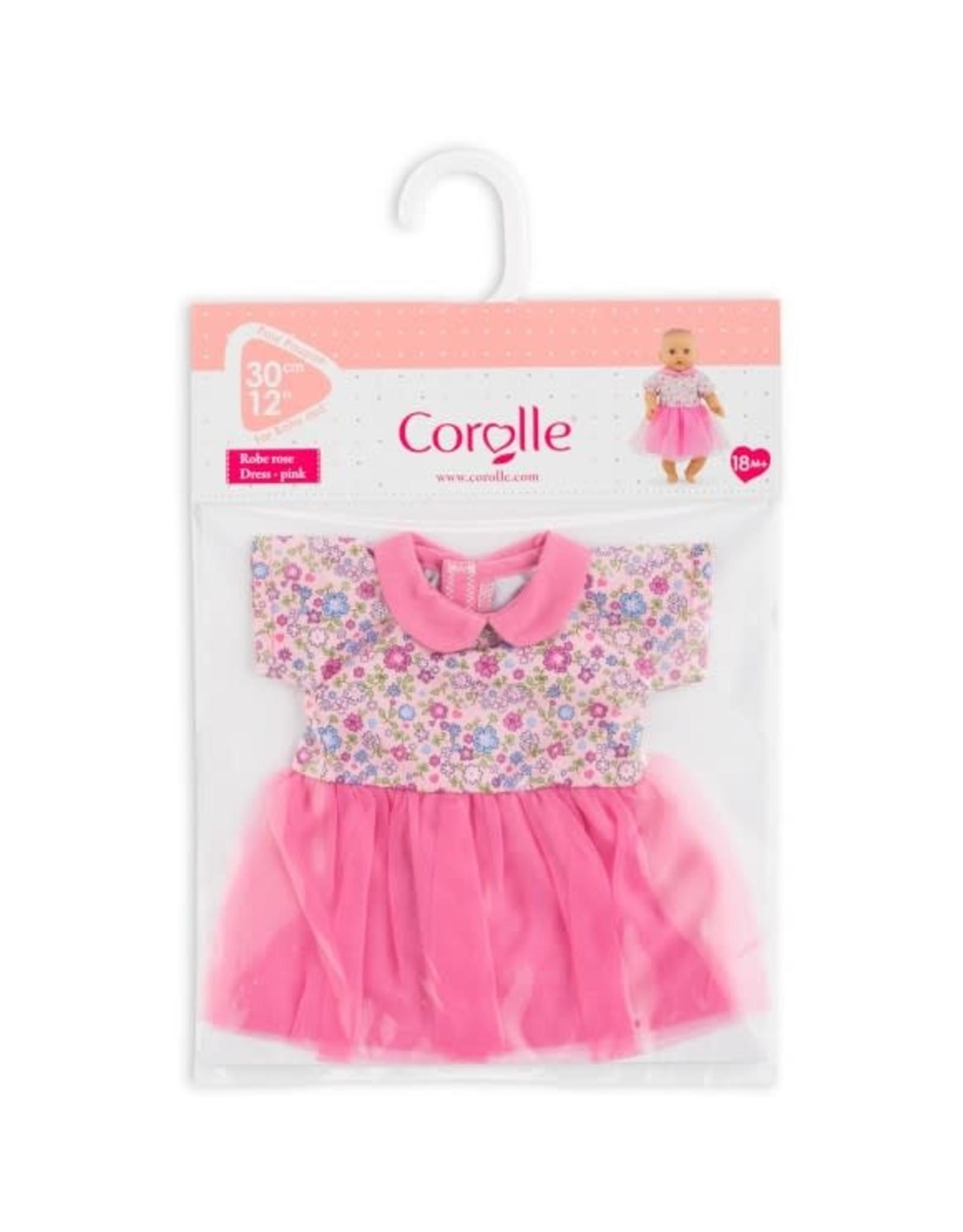 "Corolle 12"" Dress - Pink Sweet Dreams - NEW"