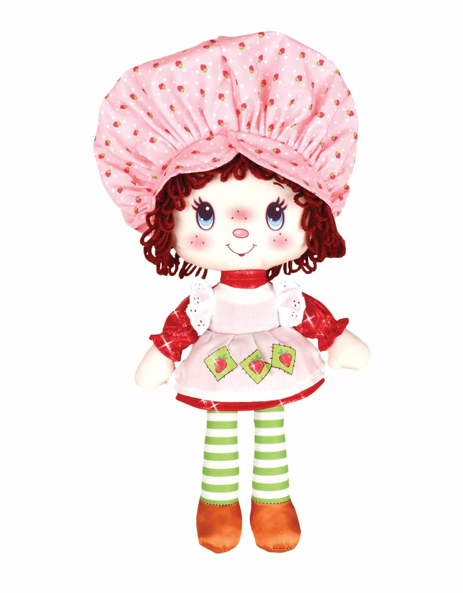 "Schylling 13"" Strawberry Sc Rag Doll"