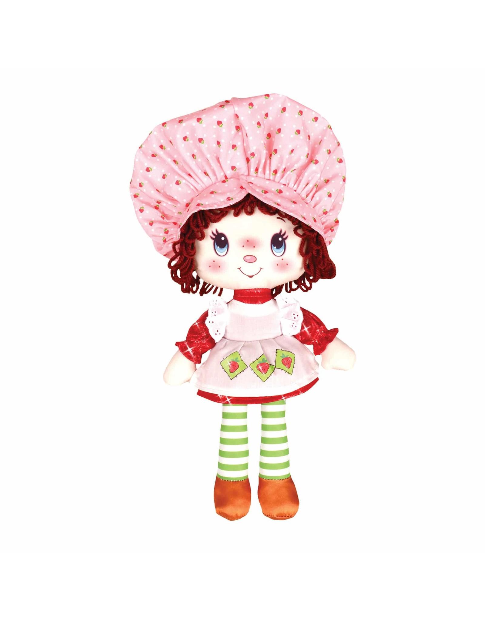 """Schylling 13"""" Strawberry Sc Rag Doll"""