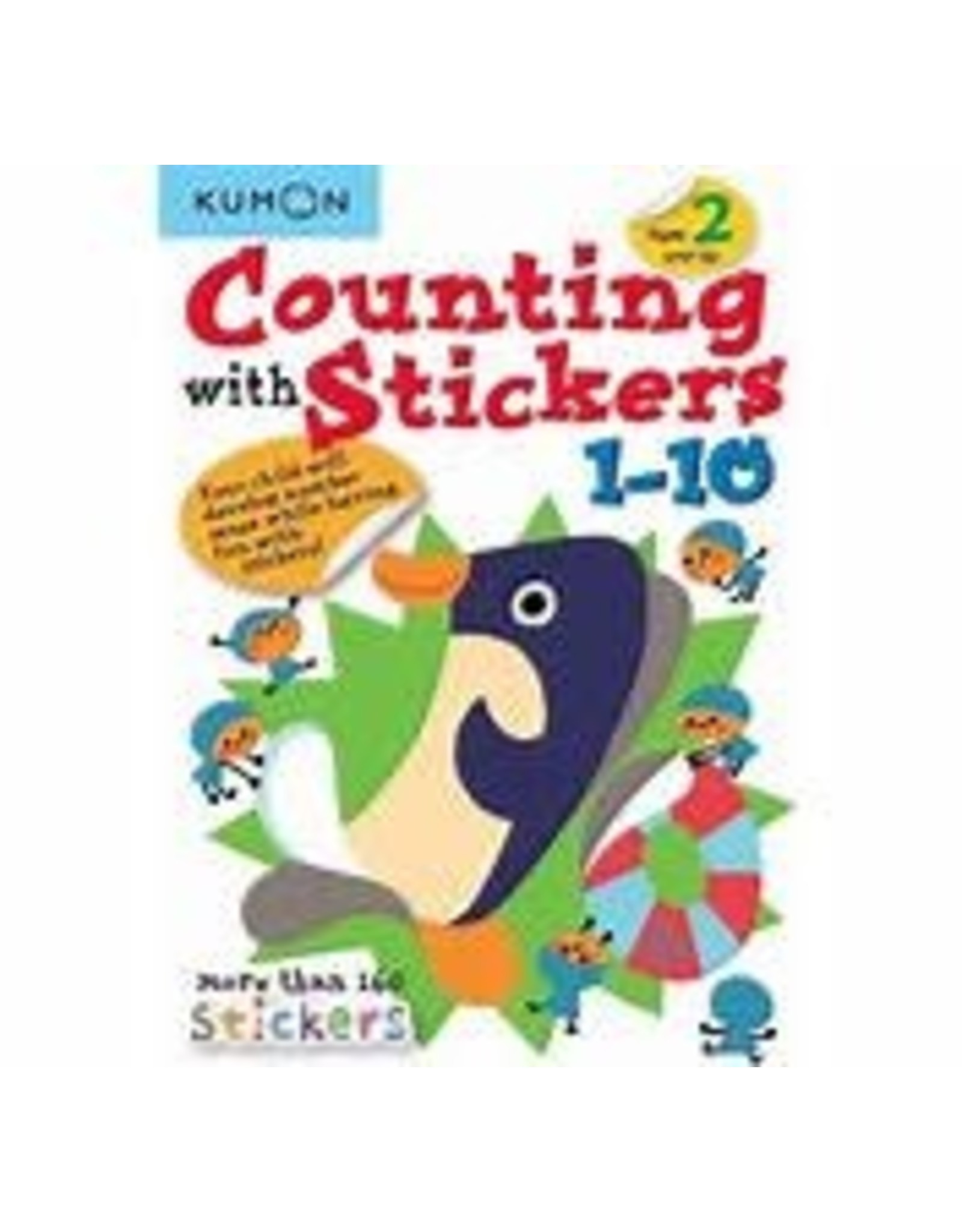 Kumon Counting with Stickers 1-10