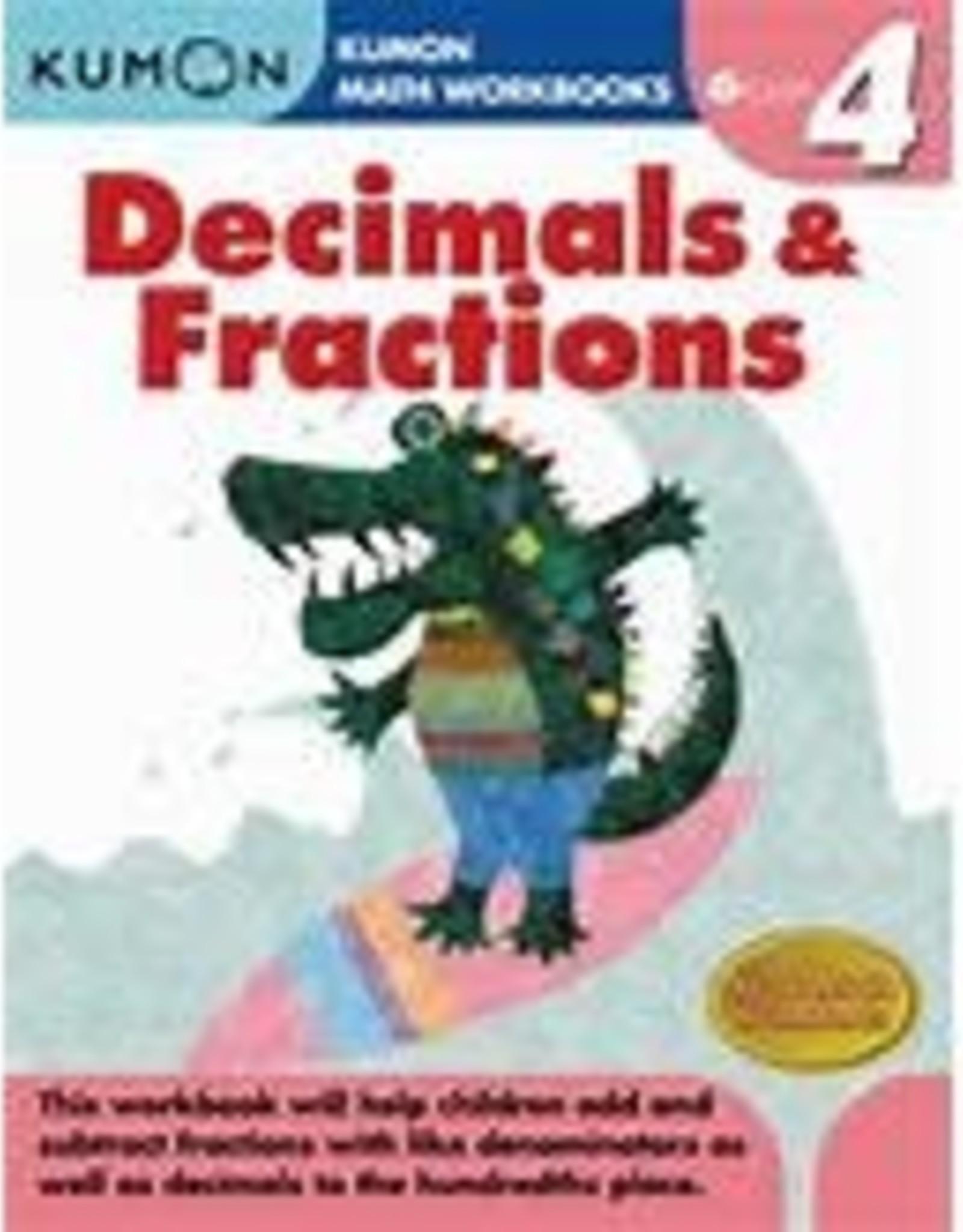 Kumon GRADE 4 DECIMALS & FRACTIONS