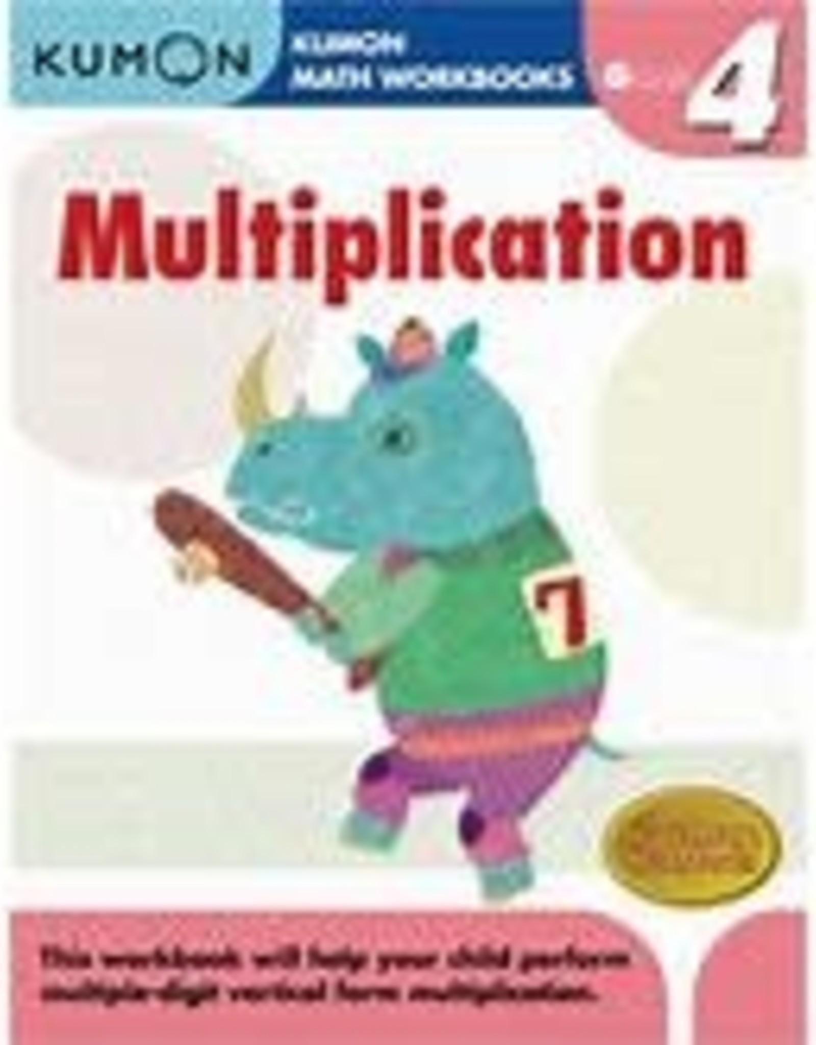 Kumon GRADE 4 MULTIPLICATION